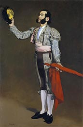 A Matador, c.1866/67 by Manet | Painting Reproduction