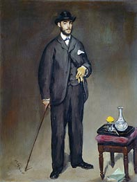 Theodore Duret, 1868 by Manet | Painting Reproduction