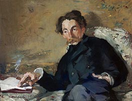 Stephane Mallarme, 1876 by Manet | Painting Reproduction
