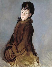 Portrait of Isabelle Lemonnier, c.1879 by Manet | Painting Reproduction