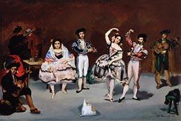 Spanish Ballet | Manet | Gemälde Reproduktion