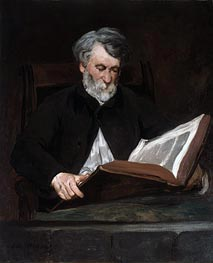 The Reader | Manet | Gemälde Reproduktion
