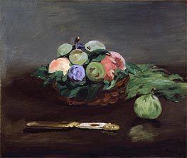 Basket of Fruit | Manet | veraltet