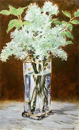 White Lilac in a Crystal Vase | Manet | veraltet