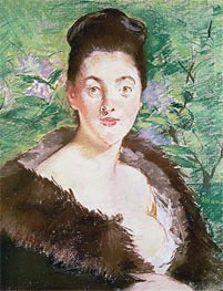 Woman in a Fur Coat | Manet | veraltet