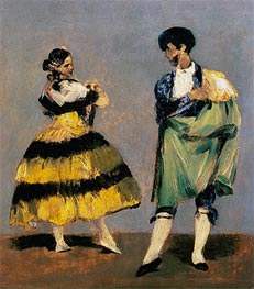 Spanish Dancers, 1879 by Manet | Painting Reproduction