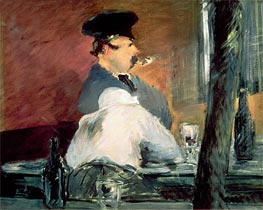 The Bar, c.1878/79 by Manet | Painting Reproduction