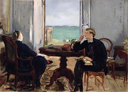 Interior at Arcachon | Manet | veraltet