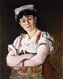 The Italian, 1860 by Manet | Painting Reproduction