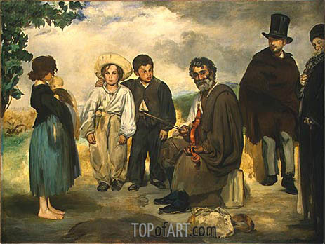 The Old Musician, 1862 | Manet | Painting Reproduction