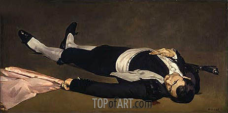 The Dead Toreador, c.1864 | Manet | Gemälde Reproduktion