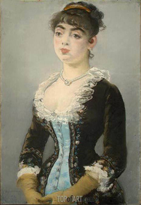 Madame Michel-Levy, 1882 | Manet| Painting Reproduction