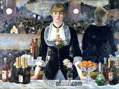 Manet | A Bar at the Folies-Bergere, c.1881/82