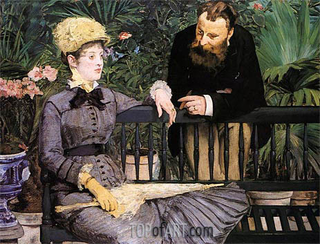 Manet | In the Conservatory, 1879