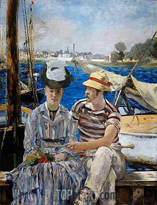 Argenteuil, 1874 | Manet| Painting Reproduction