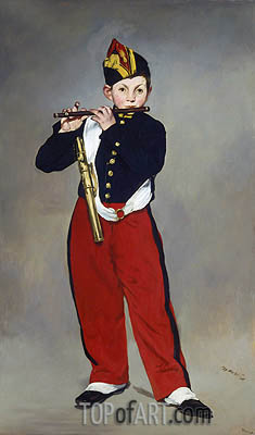 Manet | The Fifer, 1866