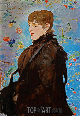 Manet | Autumn (Mery Laurent), 1882
