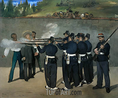 The Execution of the Emperor Maximilian, c1867/68 | Manet| Painting Reproduction