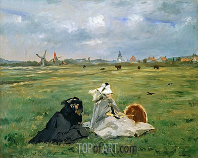 The Swallows, 1873 | Manet| Painting Reproduction