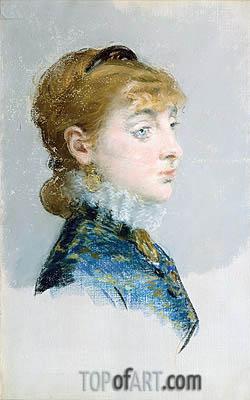 Manet | Mademoiselle Lucie Delabigne (Valtesse de la Bigne), 1879