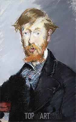 George Moore, c.1873/79 | Manet | Gemälde Reproduktion