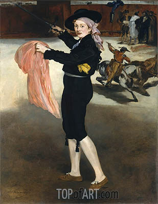 Mademoiselle V... in the Costume of an Espada, 1862 | Manet| Painting Reproduction