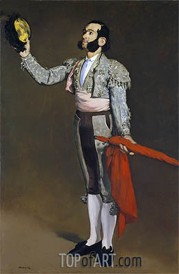A Matador, c.1866/67 | Manet| Painting Reproduction