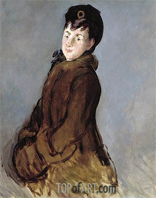 Manet | Portrait of Isabelle Lemonnier, c.1879