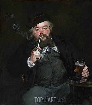 Le Bon Bock, 1873 | Manet| Painting Reproduction