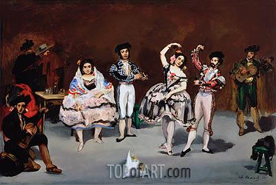 Manet | Spanish Ballet, 1862