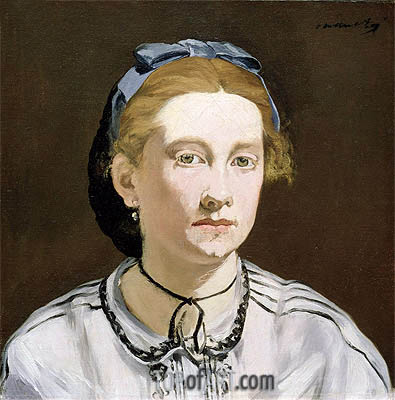 Victorine Meurent, c.1862 | Manet| Painting Reproduction