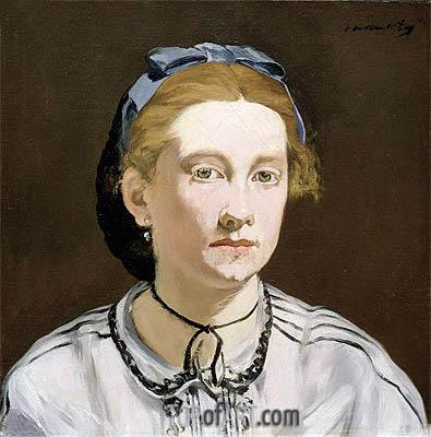 Manet | Victorine Meurent, c.1862