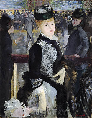 Skating, 1877 | Manet | Gemälde Reproduktion