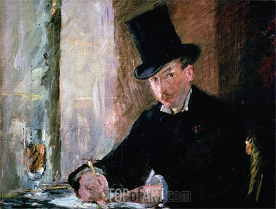 Chez Tortoni, c.1878/80 | Manet | Painting Reproduction