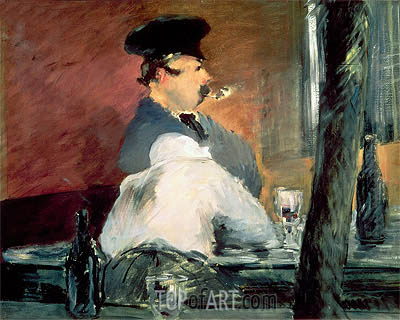 The Bar, c.1878/79 | Manet | Gemälde Reproduktion