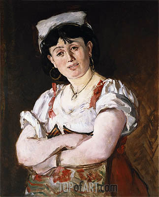 The Italian, 1860 | Manet | Painting Reproduction