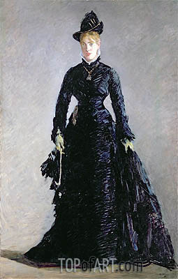 A Parisian Lady, undated | Manet | Gemälde Reproduktion