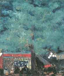 The Guinguette, 1898 by Vuillard | Painting Reproduction