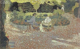 In the Garden, c.1894/95 von Vuillard | Gemälde-Reproduktion
