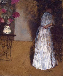 Young Woman in a Room | Vuillard | Painting Reproduction