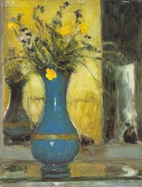 Le Vase Bleu, c.1930 by Vuillard | Painting Reproduction