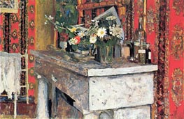 The Mantelpiece (La Cheminee), 1905 von Vuillard | Gemälde-Reproduktion