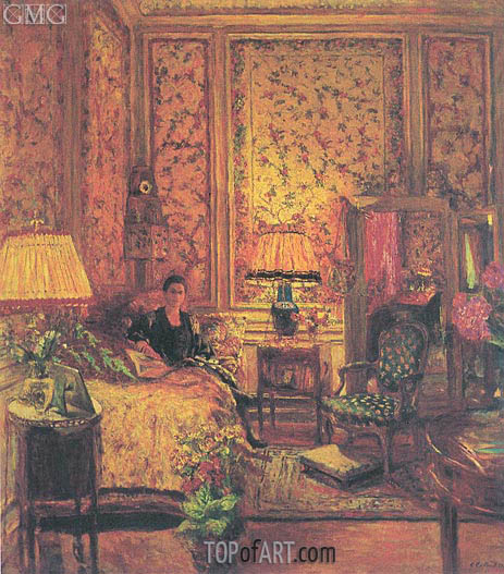 The 'Voiles de Genes' Boudoir, 1931 | Vuillard | Painting Reproduction
