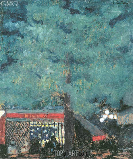 The Guinguette, 1898 | Vuillard | Painting Reproduction