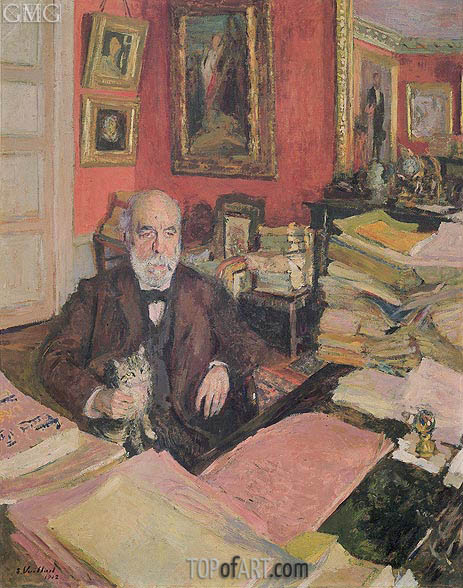 Portrait of Theodore Duret, 1912 | Vuillard | Painting Reproduction