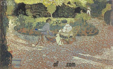 Vuillard | In the Garden, c.1894/95