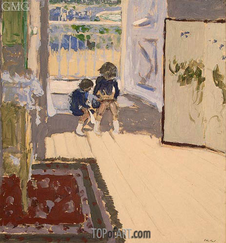 Children in a Room, c.1909 | Vuillard | Painting Reproduction
