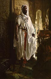 The Moorish Chief, 1878 von Eduard Charlemont | Gemälde-Reproduktion