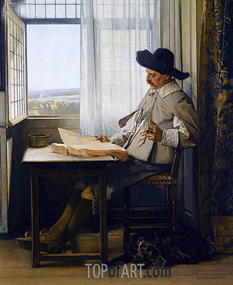 Austrian, undated | Eduard Charlemont| Painting Reproduction