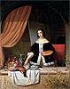 Arranging her Still Life   Eduard Charlemont